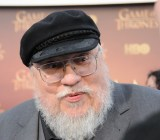 'Game of Thrones' author George R. R. Martin, at the show's season 5 red carpet premiere in San Francisco on March 23, 2015.
