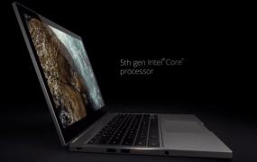 The new Google Chromebook Pixel laptop.
