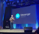 Facebook CEO Mark Zuckerberg, announcing Messenger Platform at F8 in San Francisco