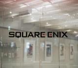 The Square Enix lobby.