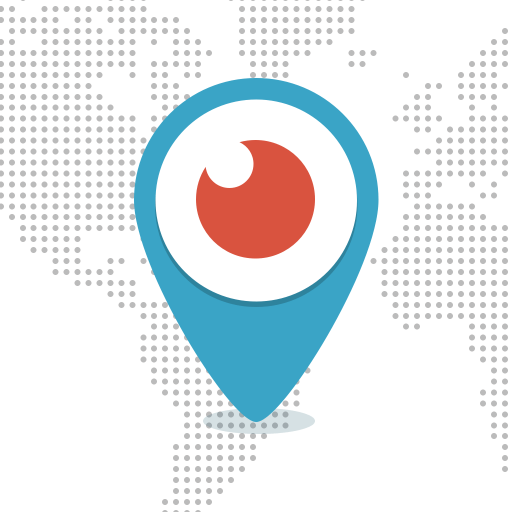 The Periscope logo on Twitter.