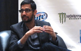 Google Android chief Sundar Pichai.