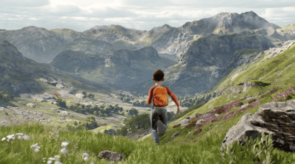 Epic Games' new 'A Boy and His Kite' tech demo points to blue skies for the game industry