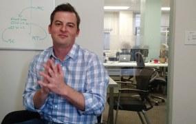 Sense's Tristan Zajonc stops by VentureBeat's San Francisco office on March 16.