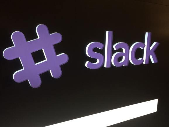 At Slack headquarters in San Francisco.