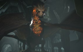 "Smaug, from Weta Digital's ""Thief in the Shadows"" VR demonstration."