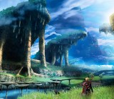 Artwork from Xenoblade Chronicles 3D.