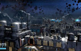 Asteroids: Outpost concept art reveals the style Atari is going for.