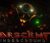 Descent Underground is a remake of a game from the 1990s.