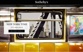 eBay and Sotheby's Live Auction platform - Home Page