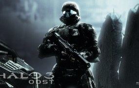 Halo 3: ODST artwork from the original Xbox 360 version.