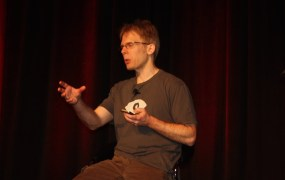 John Carmack of Oculus talking about Gear VR.