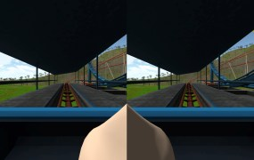 irtual reality games often cause simulator sickness – inducing vertigo and sometimes nausea. A virtual nose can help.