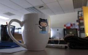 GitHub mug Brennen Bearnes Flickr