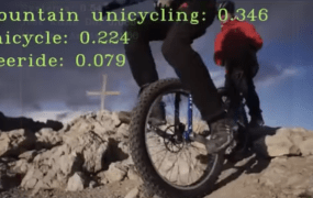 "Google thinks this is ""mountain unicycling."""