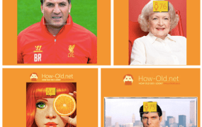 How Old Do You Look? on Twitter, where #HowOldRobot was trending today.