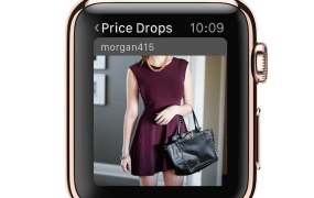 Poshmark's new app for Apple Watch