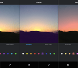 Instagram added two new creative tools today: Color and Fade.