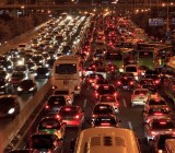 Microsoft wants to help predict traffic jams like this.