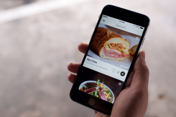 Uber launches a curated meal-delivery service in New York and Chicago
