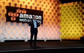 Amazon Web Services senior vice president Andy Jassy speaks at the 2015 AWS Summit in San Francisco on April 9.