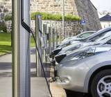 Electric car recharging stations