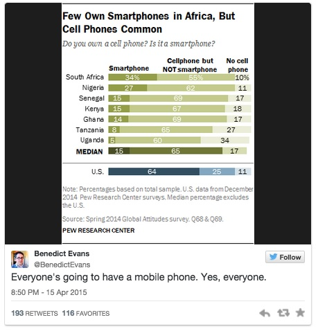 cell phones in Africa