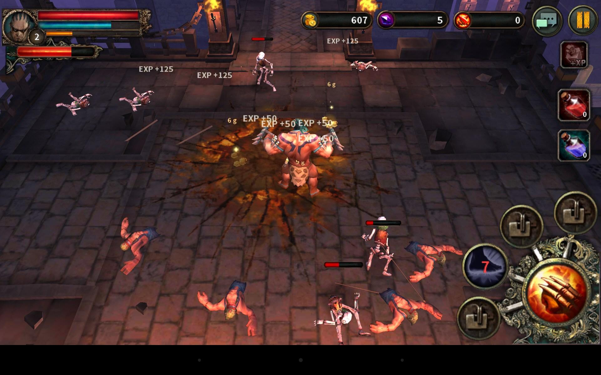 Dark Avenger, a popular hack-and-slash mobile RPG.