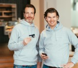 Number26 co-founder and CFO Maximilian Tayenthal (left) and CEO Valentin Stalf