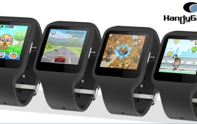 Handy Games is making  wearable games.
