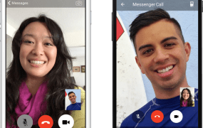 Facebook's video calling in Messenger.
