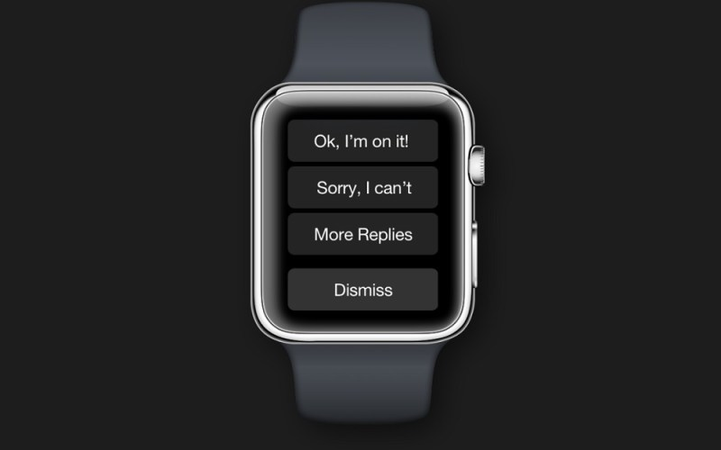 Awear's Apple Watch app