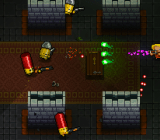Enter the Gungeon has you shooting bullets with bullets.