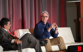 At the GamesBeat Summit in Sausalito, California, Unity CEO John Riccitiello spoke about making game design as easy and accessible as possible.