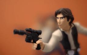 Han Solo from Disney Infinity 3.0.