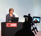 Kleiner Perkins partner Mary Meeker presents the 20th annual version of her Internet Trends report at the Code Conference, May 2015.