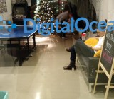 At DigitalOcean headquarters in New York in December 2014.
