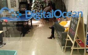 At DigitalOcean headquarters in New York in December 2014.