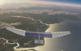 Facebook's drone vision for bringing the Internet everywhere.
