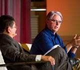 John Riccitiello, CEO of Unity, speaking at the GamesBeat Summit.