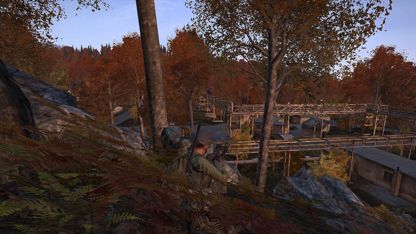 A quiet moment in DayZ.