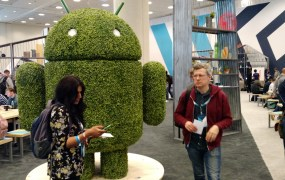 At the 2015 Google I/O developer conference in San Francisco on May 29.