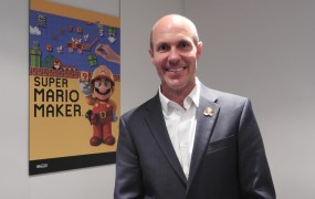 Scott Moffitt, executive vice president of sales and marketing at Nintendo of America.