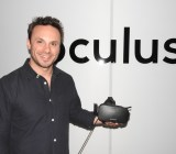 Brendan Iribe showed off the new Oculus Rift at E3 2015.