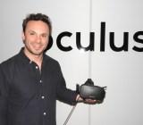 Brendan Iribe showed off the new Oculus Rift at E3 2015.