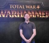 Ian Roxburgh, creative director of Total War: Warhammer at Sega's Creative Assembly.