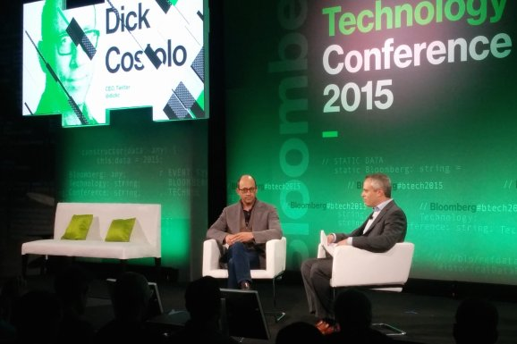 Outgoing Twitter CEO Dick Costolo speaks to Bloomberg's Brad Stone.