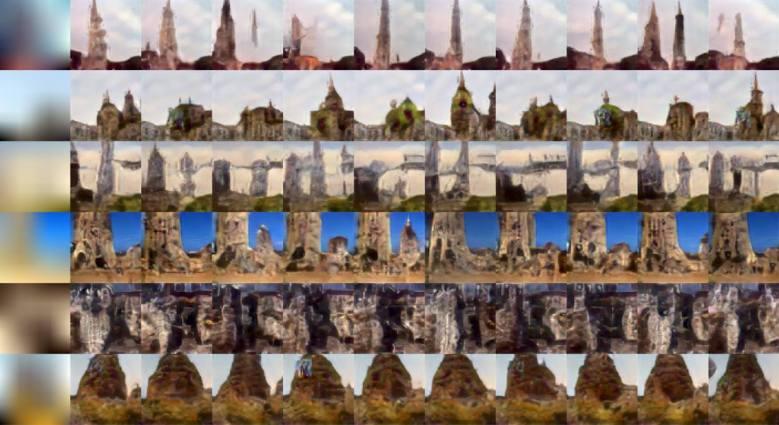 Image samples Facebook creates