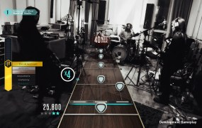 Guitar Hero Live's GHTV service offers livestreamed setlists curated to a player's unique musical tastes.
