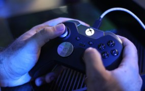 Those are our hands on that Elite controller!